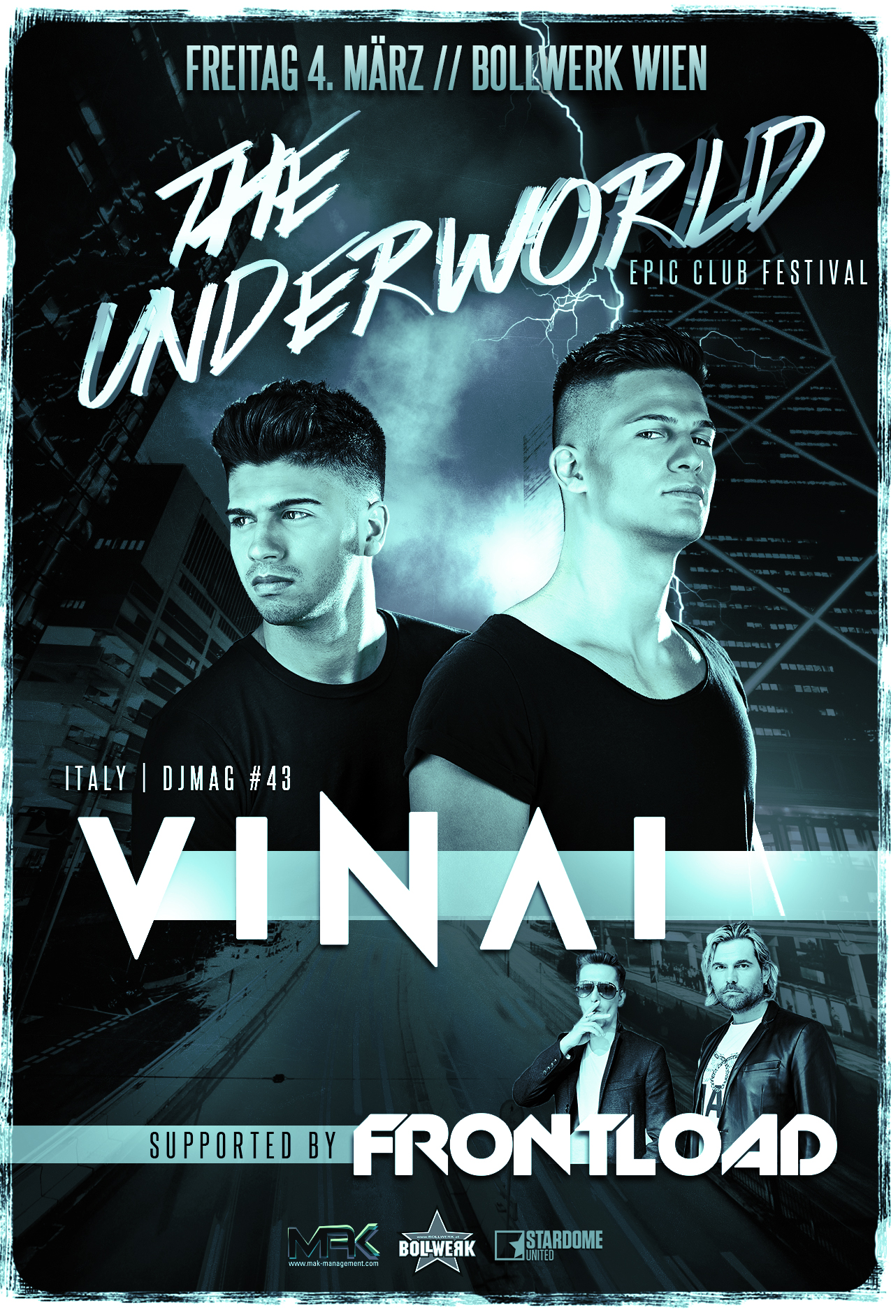 The Underworld with special guest VINAI, supported by Frontload